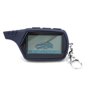 Image 1 - A91 Starline A91 Telecomando LCD Per Due Vie di Allarme Auto Keychain Starline A91 Versione Russa
