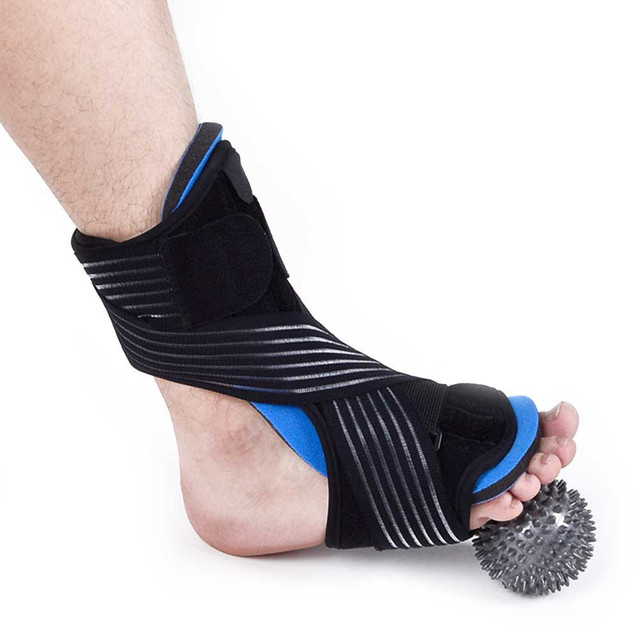 19bfc4f30229 Plantar Fasciitis Dorsal Night & Day Splint Foot Orthosis Stabilizer  Adjustable Drop Foot Orthotic Brace Support Pain Relief