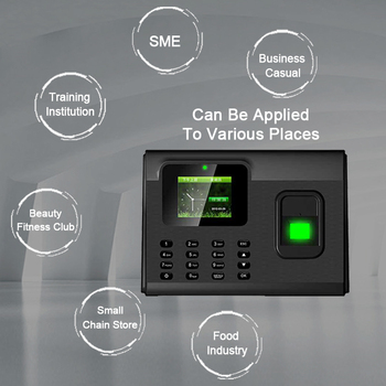 Biometric Fingerprint Time Attendance System TCP/IP USB Fingerprint Reader Access Control Recorder Time Clock Employees Device цена 2017