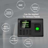 Biometrische Fingerprint Zeit Teilnahme System TCP/IP USB Fingerprint Reader Access Control Recorder Zeit Uhr Mitarbeiter Gerät