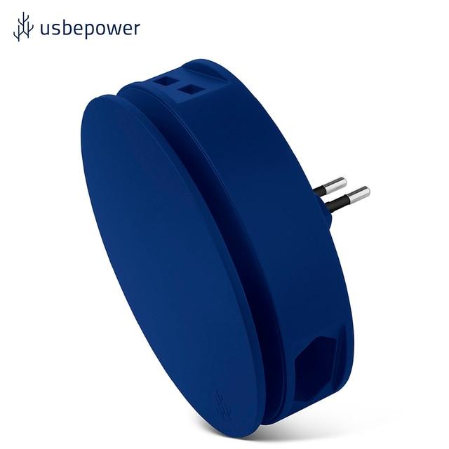 Зарядное устройство USBepower AERO цвет синий/AEROBL
