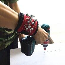 Auto Zubehör Armbänder Hand Tool Magnetische Armband Auto Reparatur Nägel Elektriker Bohrer Schraube Werkzeuge Reparatur Kit Gürtel Werkzeug Tasche