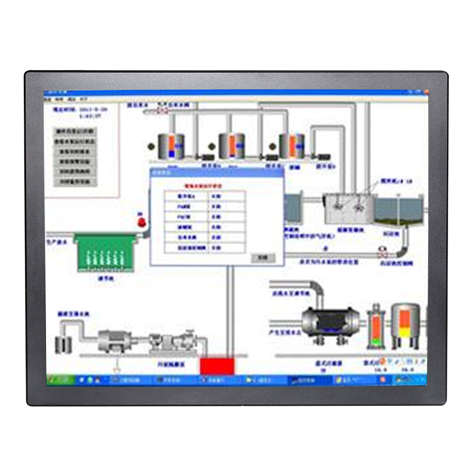 15 Inch 2MM IP65 Industrial Panel PC,10 Points Capacitive Touch,Windows 7/10,Linux,Intel Celeron J1800 ,[DA15W]