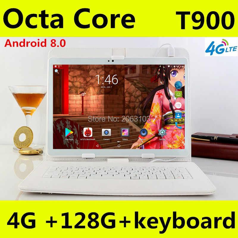 10 אינץ אנדרואיד Tablet 4 GB RAM 128 GB ROM גוגל אנדרואיד 8.0 OS Dual המצלמה WiFi 1920*1200 IPS 3G 4G FDD LTE GPS Tablet 10