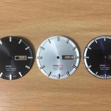 35 мм Циферблат для мужчин T044430A PRS516 механические часы буквенные часы аксессуары для T044