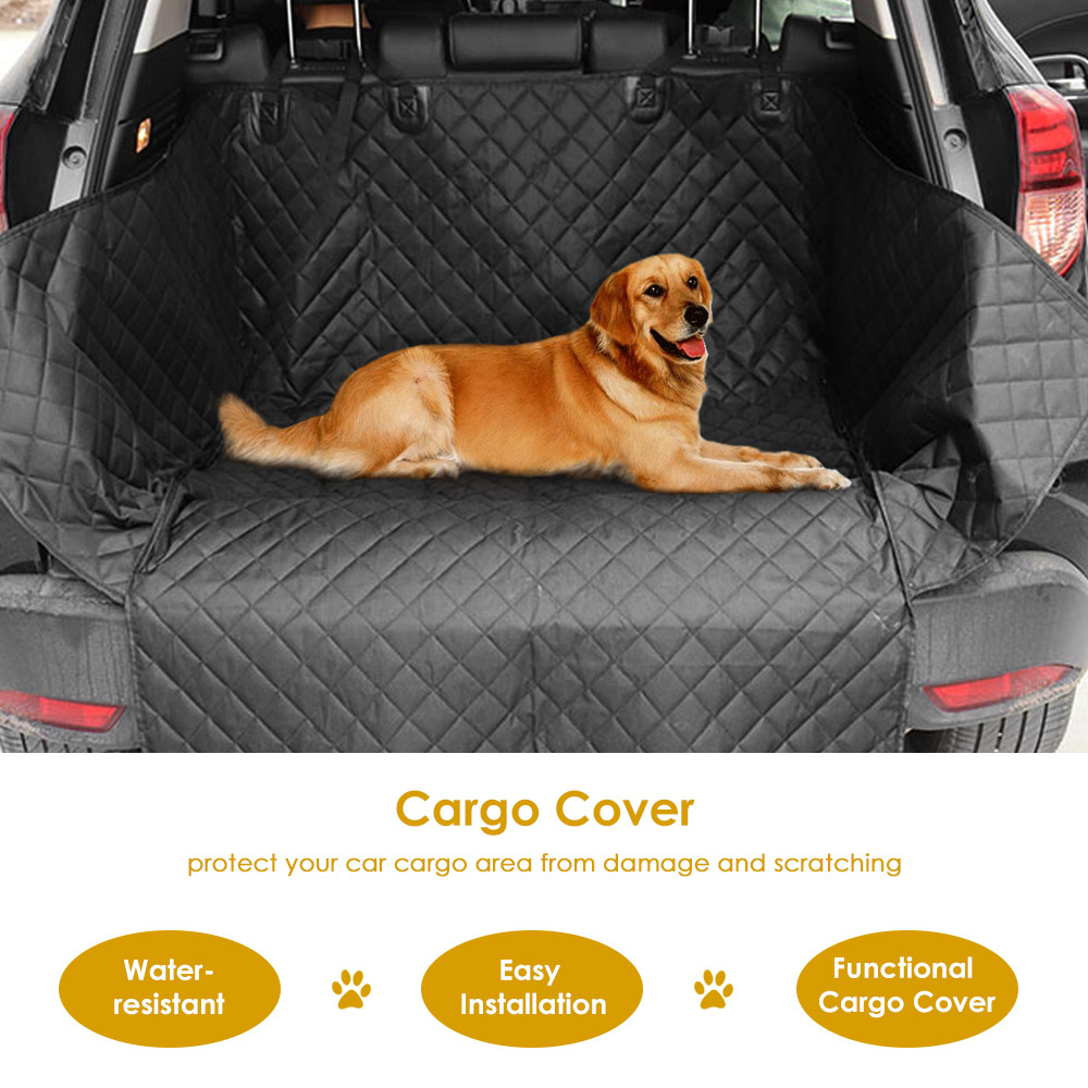 Water Resistant Car Trunk Cover Cargo Cover SUV Cargo Liner Non-skid Car Protector Mat For  Pet Dogs Car Seat Cover