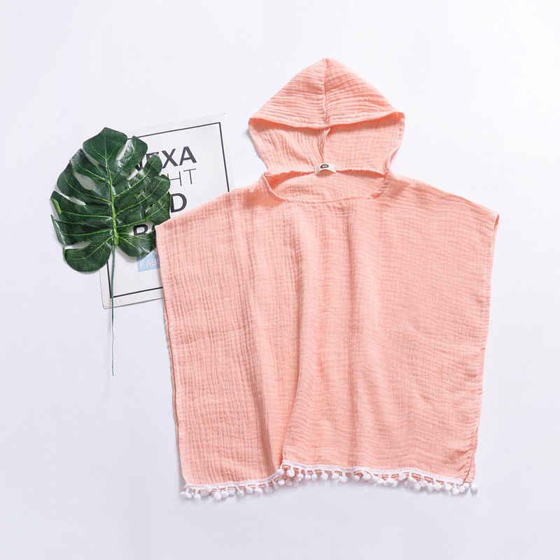פעוט ילדים תינוקת בגדים ארוך קייפ סלעית ציצית בגדי מגשר תינוק בנות בגדי Vestidos
