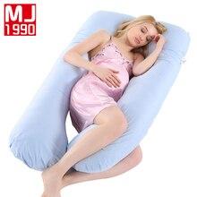 Новая беременная женщина u-образная Подушка для сна поддержка хлопок наволочка Беременная Женская Подушка беременная женщина боковой сон Ced подкладки