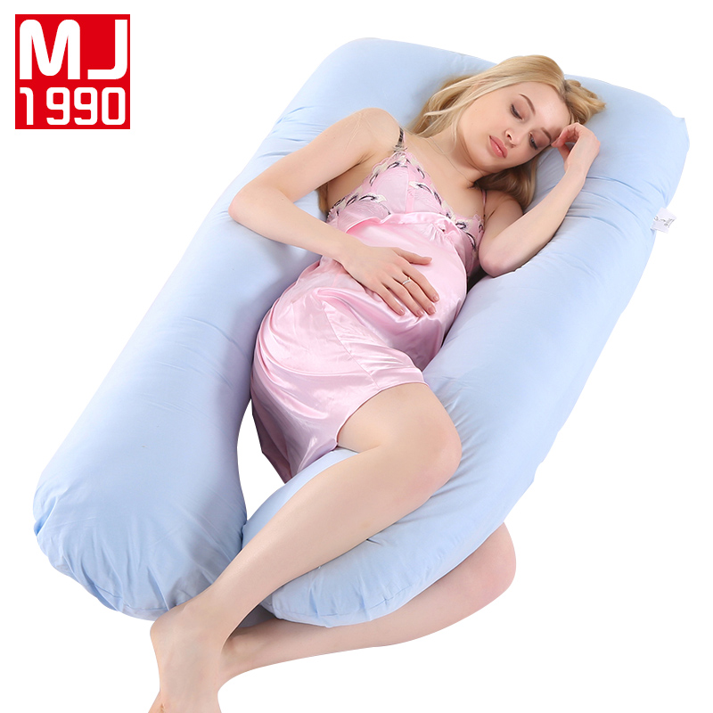 New Pregnant Woman U Shape Pillow Sleep Support Cotton Pillowcase Pregnant Woman Pillow Pregnant Woman Side Sleep Ced Linings