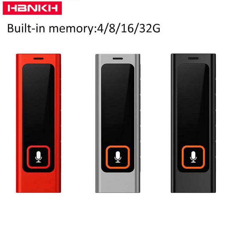 Unterhaltungselektronik Hbnkh H-r510 Professionelle Digitale Hd Fernbedienung Lärm Reduktion Tragbare Recorder Mode Automatische Voice Control Mp3 Recorder Digital Voice Recorder