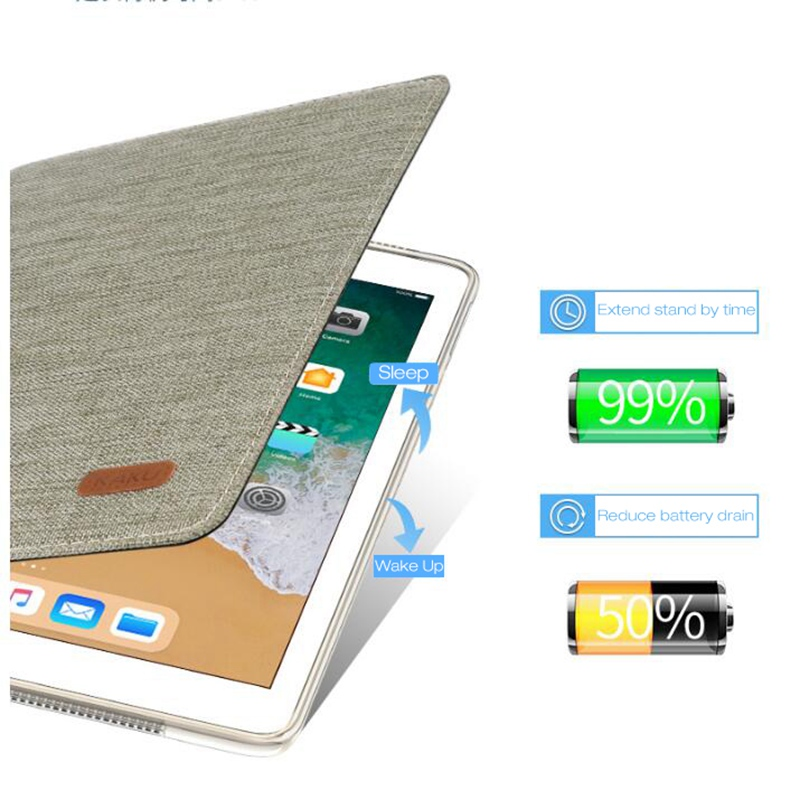 Case for IPad air for New Ipad 9.7 Smart Cover PU Leather Case for IPad 6th Generation for IPad 5 Case A1474 A1475 A1476