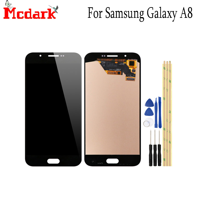 Mcdark OLED LCD Screen For Samsung Galaxy A8 A800 A8000 A800F 5.7 Inch Replacement Accessories LCD Display+Touch Screen