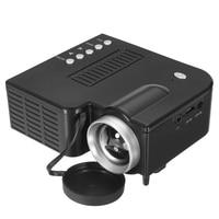Mini UC28B 400 Lumen 1920x1080 LED Mini Multimedia Tragbare Projektor Startseite EU Stecker-in Projektor-Zubehör aus Verbraucherelektronik bei