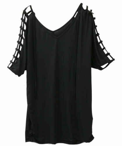 2019 セクシーな女性のプラスサイズのビーチウェアビキニカバーアップカフタン Tシャツブラウスミニドレス
