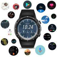 1,4 дюймов Большой осыпи gps Bluetooth 4,0 Android/iOS монитор сердечного ритма Спорт 16 Гб Смарт Android 7,1 часы