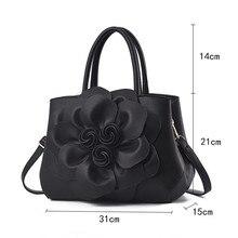2018 New 3D Flower Design Women Handbags Causual Shoulder Bags Crossbody Bags Ladies Classic Female Totes Wedding Purse Clutch