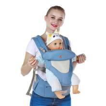 Baby Carriers Foldable Infant Hipseat Front Facing Ergonomic Wrap Backpacks(China)