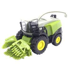 1:42 Alloy Farmer เครื่องเกี่ยวนวดการเกษตรรถรถบรรทุกรุ่นของเล่นเด็กของขวัญ