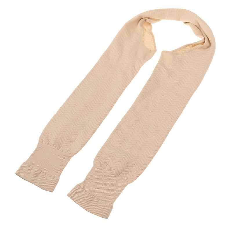 Женский бесшовный обтягивающий формирователь рукава (цвет кожи)