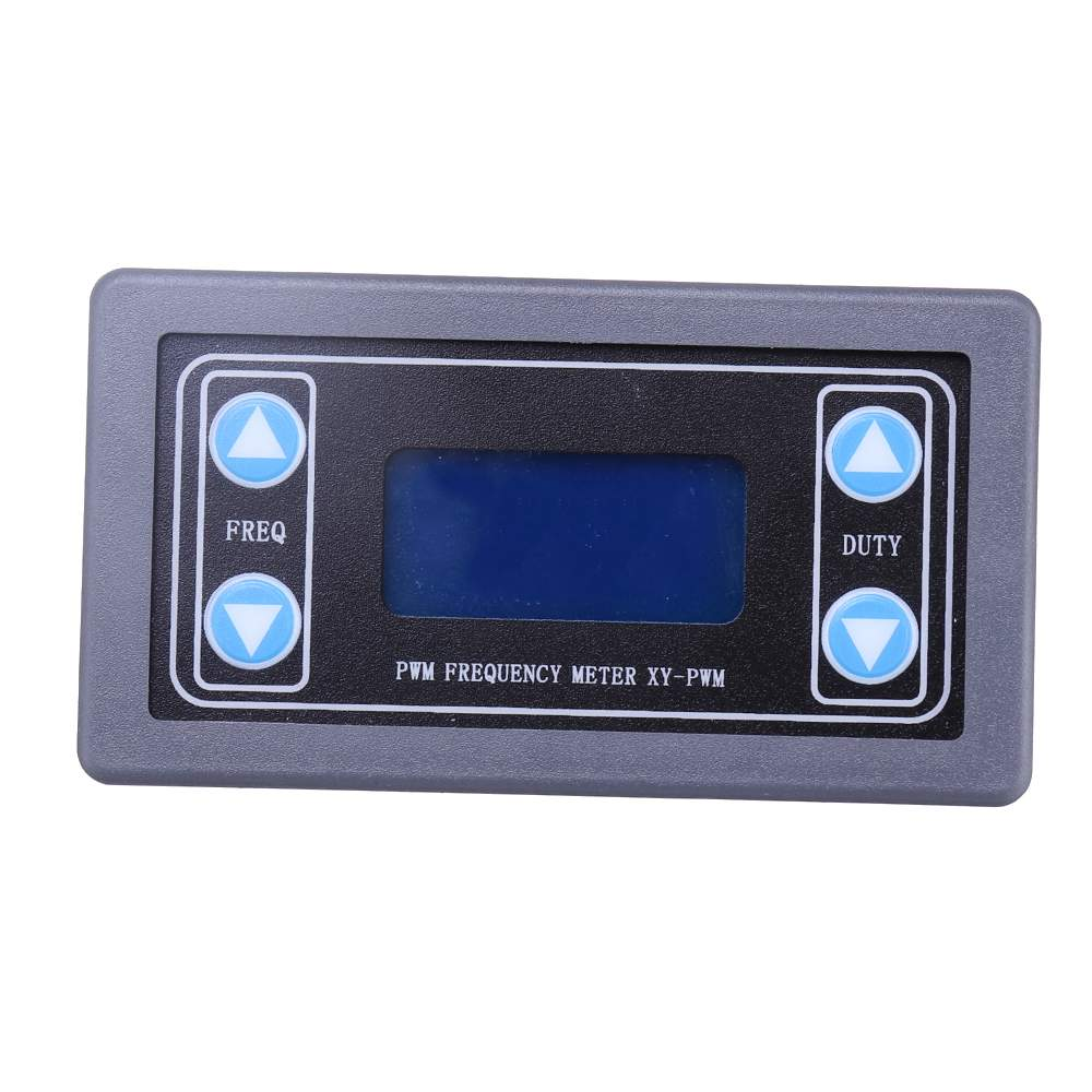 Signal Generator PWM Pulse Frequency Duty Cycle Adjustable Module With LCD Display and Case 1Hz-150Khz 3.3V-30VSignal Generator PWM Pulse Frequency Duty Cycle Adjustable Module With LCD Display and Case 1Hz-150Khz 3.3V-30V