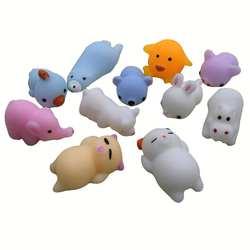 Милые Животные Игрушка антистресс мяч сжимаемая игрушка маленький корпус забавная декомпрессия сжимающая Pinch Игрушка снятие стресса