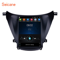 Seicane Car Radio Multimedia Video Player Navigation GPS Android 9.1 For 2012 2013 2014 Hyundai Avante Elantra with Wifi AUX