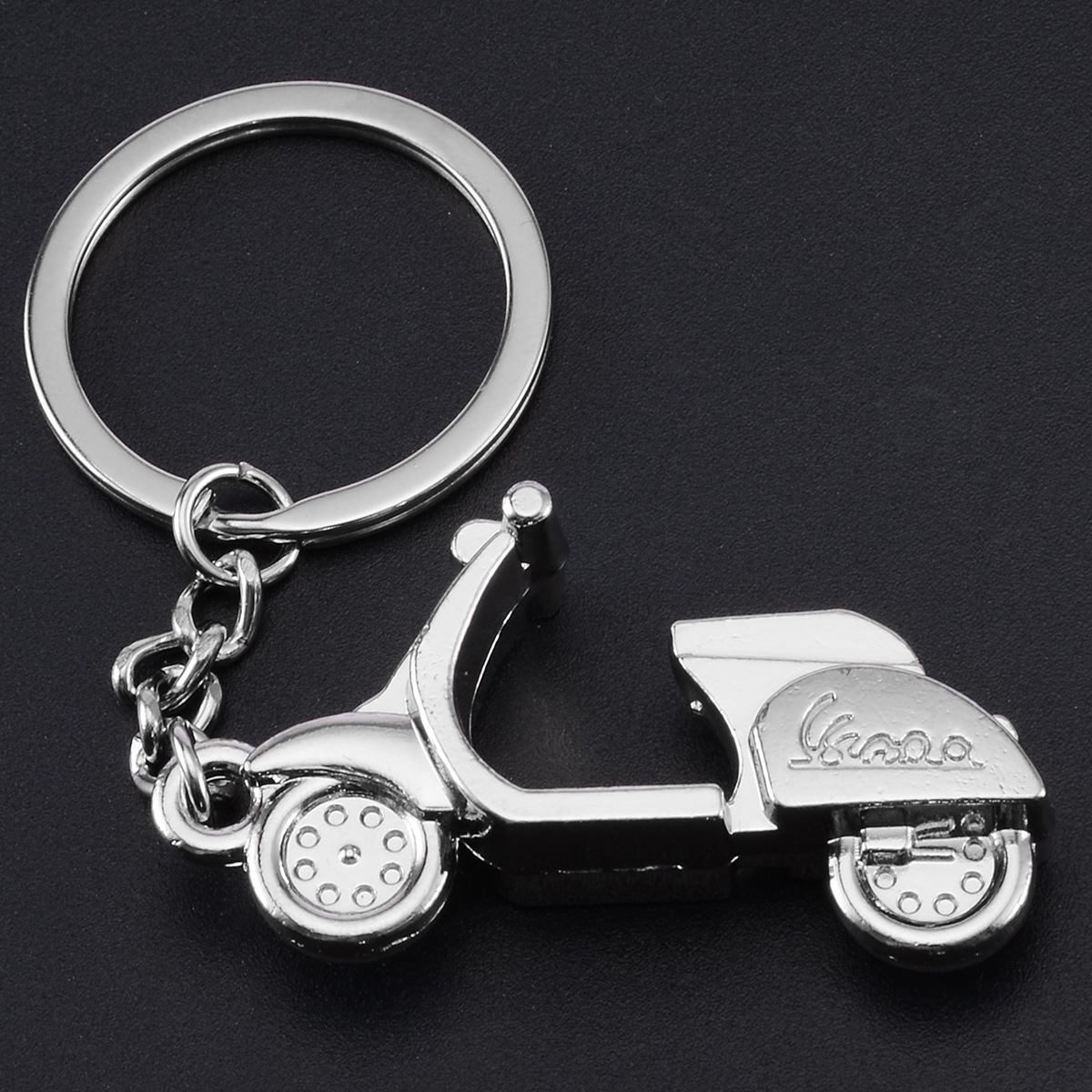 Classic 3D Motorcycle Scooter Pendant Keyring Keychain and action toys