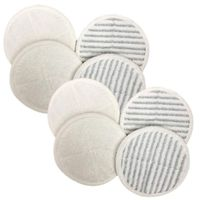 Replacement Mop Pads Compatible With Bissell Spinwave Mop Pad Heads Parts Perfect For Models 13122,13129,13151,13139 Home And