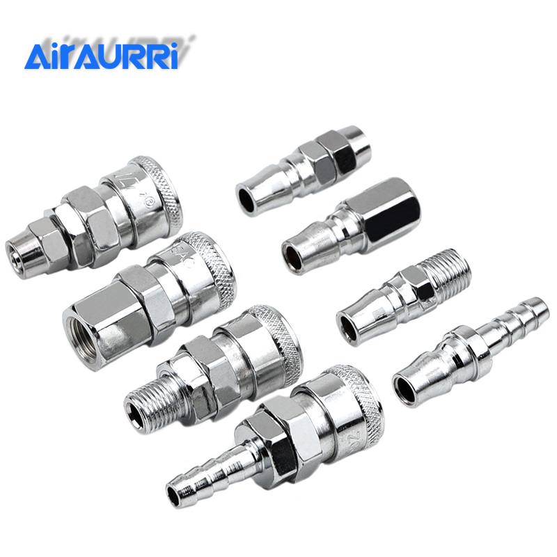 C Type Quick Connector High Pressure Coupling PP SP PF SF PH SH PM SM 20 30 40 Work On Air Compressor Pneumatic Fitting