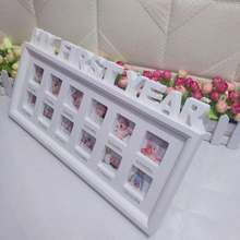 Kids Birthday Gift My First Year Baby 12 Months Picture Photo Frame Display Newborn Photo Frame Picture Home Decor Ornaments(China)