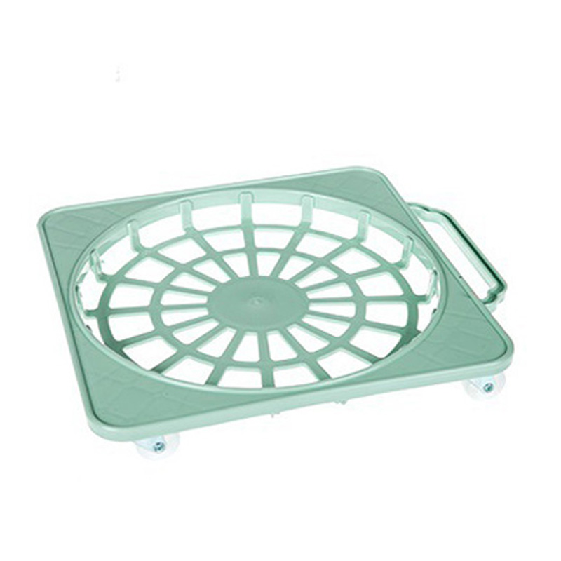 Plastic Removable Shelf Flowerpot Rack with Wheels for Flower Plants Pot Gas-jar carnation artificial flower with pot