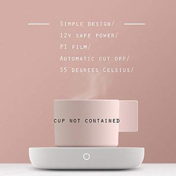 Office Desk Mat | Coffee Mug Warmer&Cup Warmer For Office Desk Use, Electric Beverage Warmer Electric Coffee Warmer Plate For Cocoa Tea Water Mi