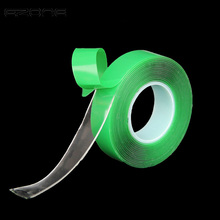 EZONE 3M Super Strong Double-sided Transparent Tape 10mm-30mm Clear Acrylic Foam Adhesive VHB Tape Multi-role Green Tape цена и фото