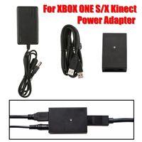 For Microsoft X box One S X Windows 10 PC Kinect 2.0 Sensor Adapter Power Supply