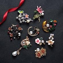 Горячая Распродажа, броши с кристаллами для женщин, новая Ретро мода, броши с кристаллами, одежда на булавке, модные ювелирные изделия для женщин