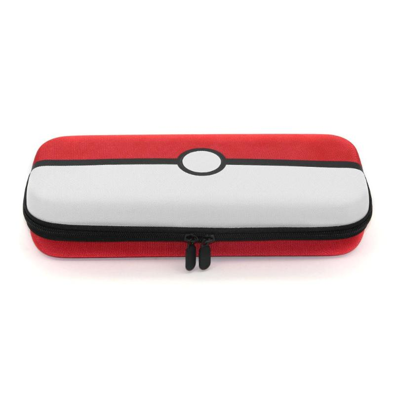 PU Carrying Gaming Storage Bag for Nintend Switch Pokemon Pokeball Game Pads Console Hard Shell Pouch Portable Case Bags