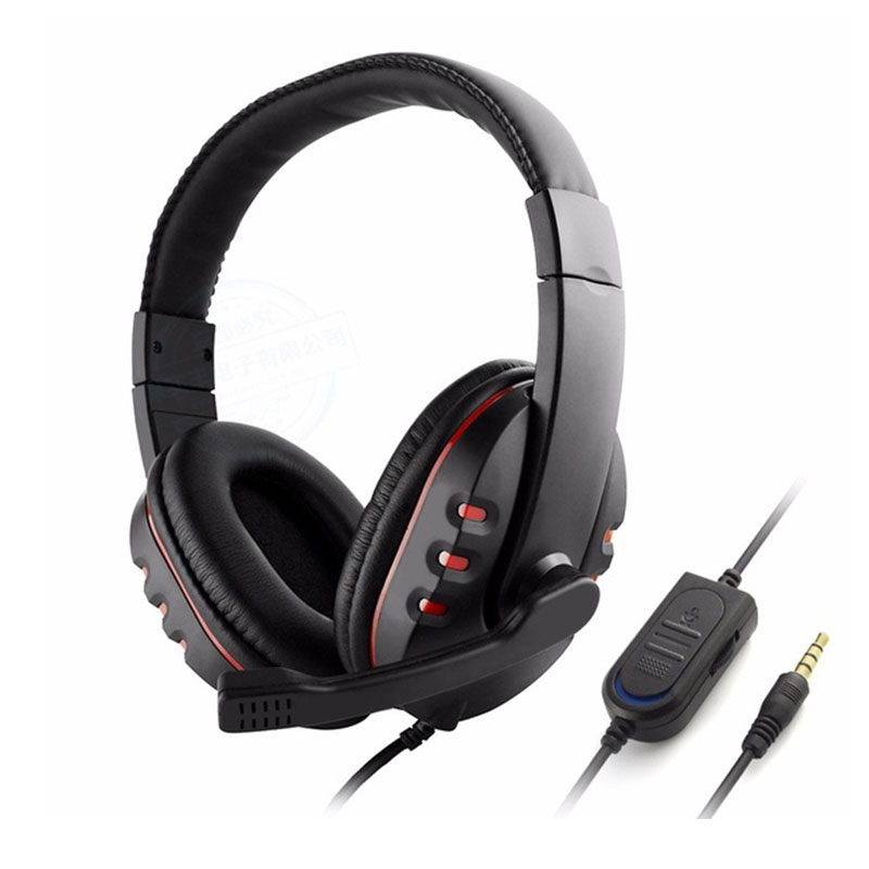 Wired Gaming Headphone Stereo Bass Game Headset With Microphone Noise Canceling Earphone For PC Laptop Smart Phone 3.5mm