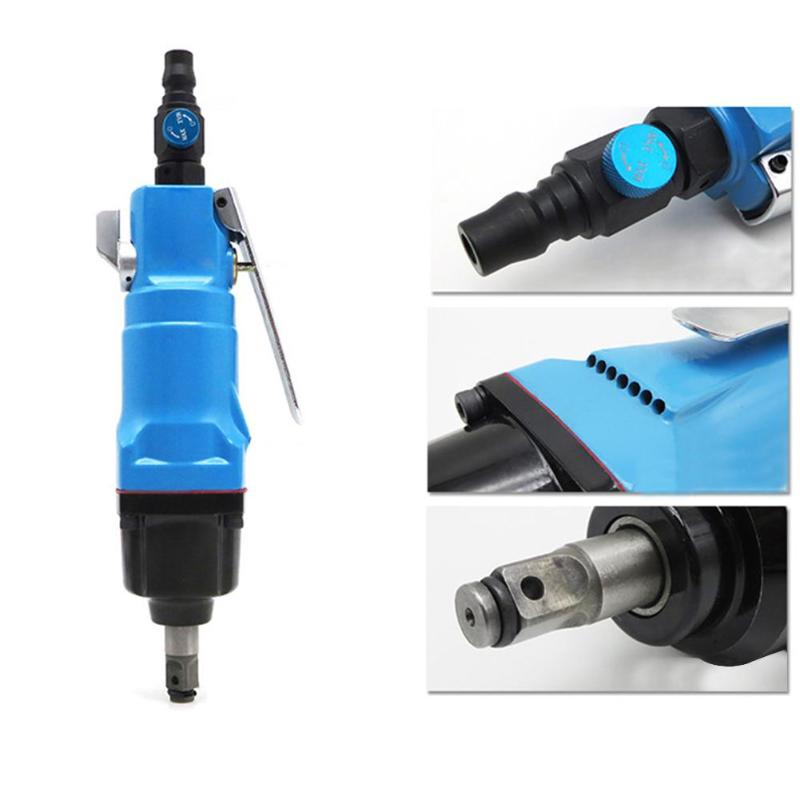 Drive Air Gun Wrench Kit Pneumatic Powered Ratchet 3/8 Impact Socket Wrench Reversible Air Tool free shipping high quality 3 8 air pneumatic impact wrench gun tool