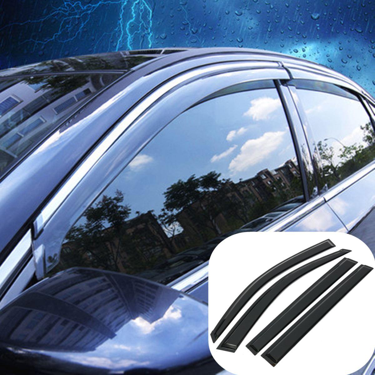 For Toyota Highlander 2008 2009 2010 2011 2012 Car Window Sun Visor Rain  Guard Wind Deflector 928abdedd9c
