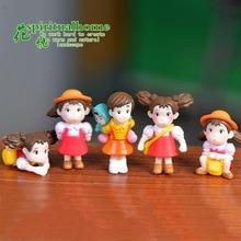5styles My Neighbor Totoro Xiaomei Miniature Figurines Micro-landscape Furnishing DIY Landscape Accessories for Garden