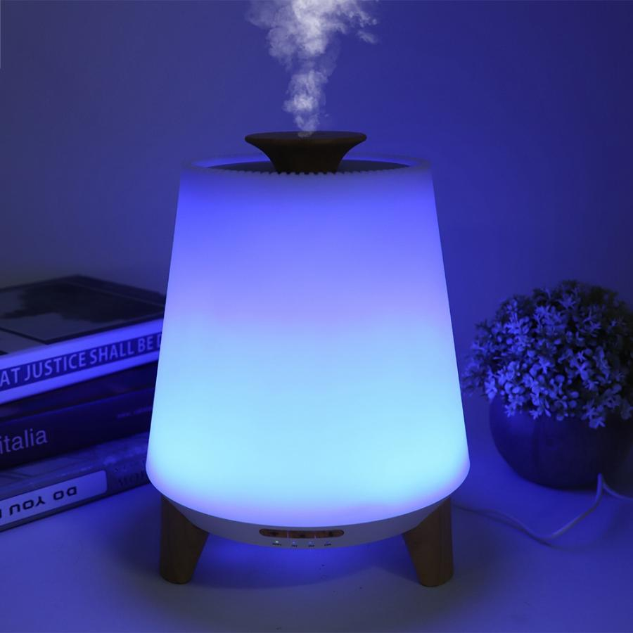 Wifi Smart Air Humidifier Ultrasonic Aromatherapy Essential Oil Aroma Diffuser Humidifier Night Light ultrasonic luchtbevochtig