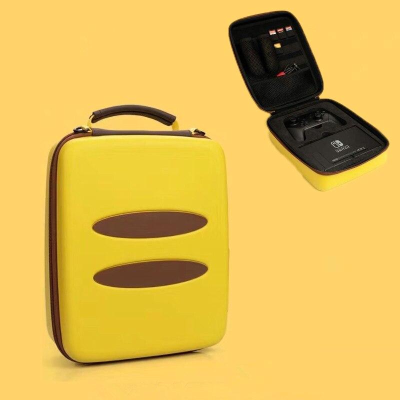 Nintend Caso Interruptor Acessórios EVA Rígido Portátil Saco de Transporte Saco De Armazenamento de Viagem Grande Capacidade Bolsa NS Console saco para Interruptor