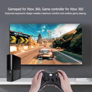 Image 2 - Двойной вибрации геймпад Controlle джойстик для Microsoft Xbox 360 Xbox 360 тонкий для ПК Джойстик для Windows джойстик
