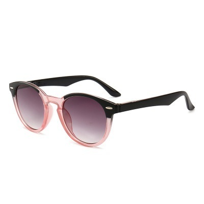 Fashion Unisex Round Reading Sunglasses Men Women Clear Lens Presbyopic Glasses Optical Spectacle Diopter +100 +200 +300 +400 by Lonsy