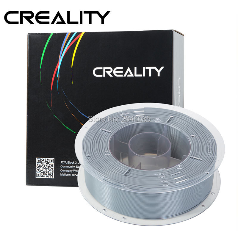 CREALITY 3D High Quality Gray Color Filament PLA 1.75mm for 3D Printing Pen and 3D Printer  CREALITY 3D High Quality Gray Color Filament PLA 1.75mm for 3D Printing Pen and 3D Printer