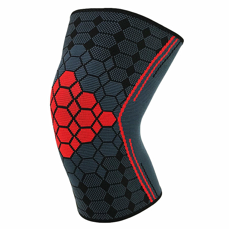 4 Color Crashproof Adult  Sports Basketball Pad Leg Knee Long Sleeve Protector With Honeycomb For Man Women