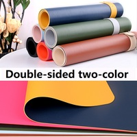 FULCLOUD 900*450*2 mm Double sided two color mouse pad Soft and smooth rollable waterproof easy to clean desk mat