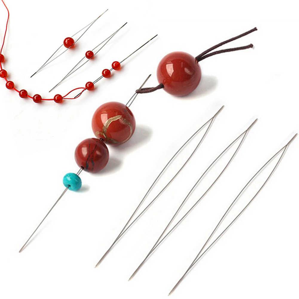 Öffnen die Perle Nadel DIY Sicken Nadeln Liefert für, Der Perlen Handgemachte Pins Schmuck Zubehör Werkzeuge 1PCS Sicken Nadeln