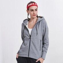 Willarde зимние спортивные толстовки для бега, куртки для йоги, Женская дышащая Спортивная одежда на молнии для фитнеса, ветрозащитная спортивная одежда