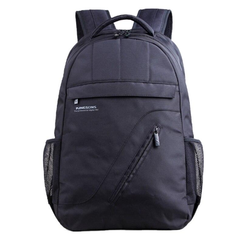 Kingsons Brand Laptop Backpack Black Men Backpack Women Clas